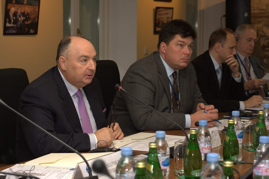 ECTR Round Table in Moscow