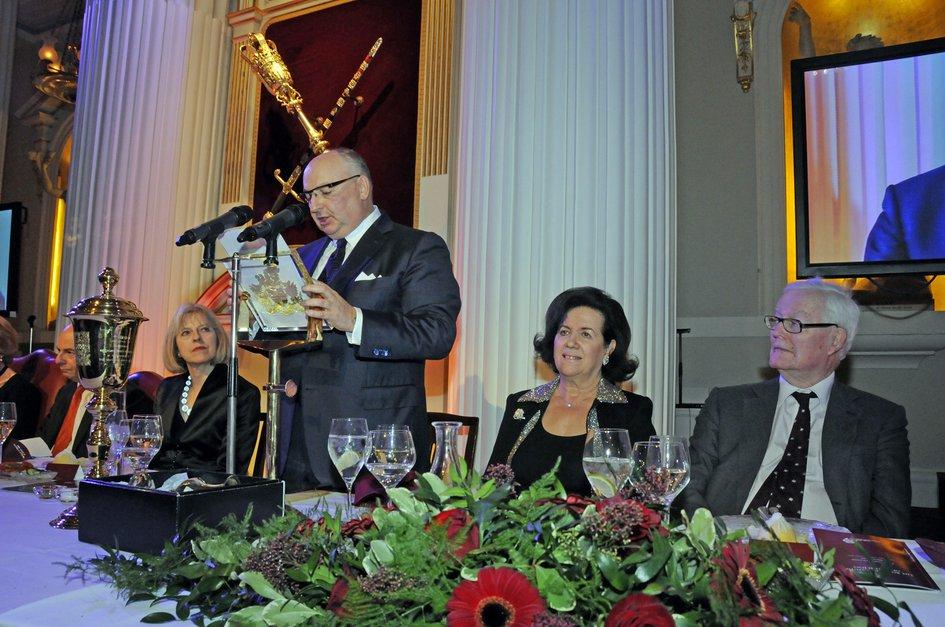 EJC President Moshe Kantor Addressed the Annual Board of Deputies President's Dinner. London