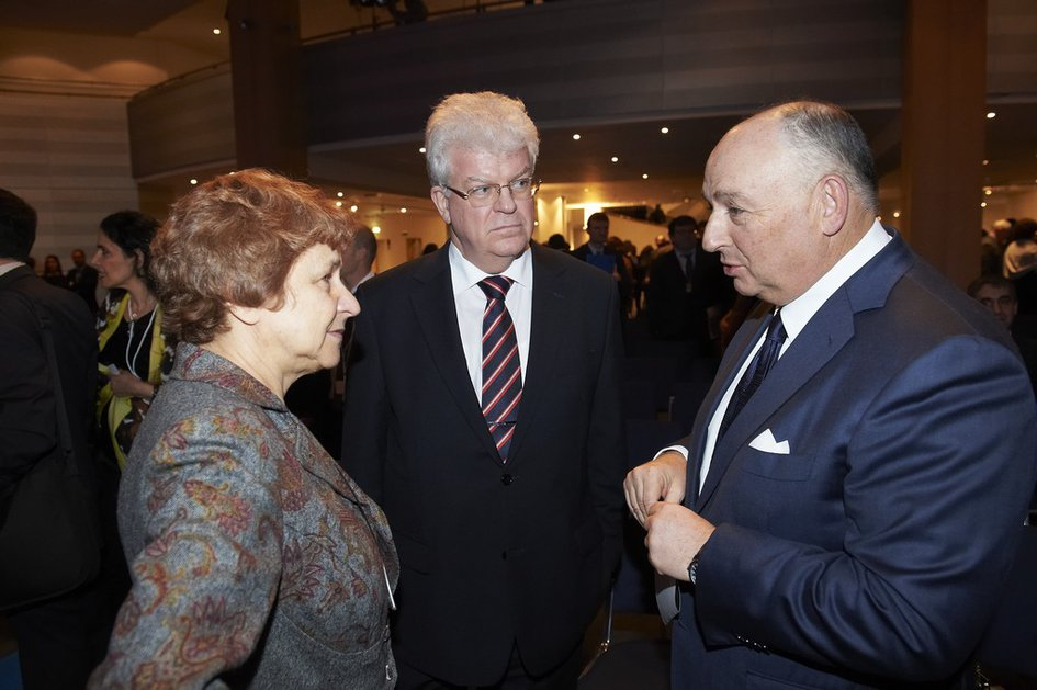 International Holocaust Remembrance Day at the European Parliament. Brussels, January 27, 2014