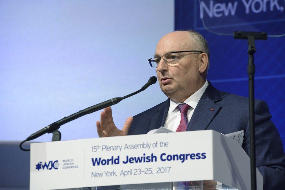 15th Plenary Assembly of the World Jewish Congress. New York