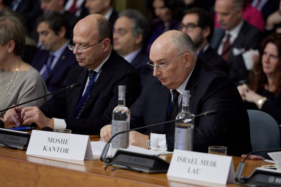 Rome International Conference on the Responsibility of States, Institutions and Individuals in the Fight Against Anti-semitism in the Osce Area. Rome, January 29, 2018