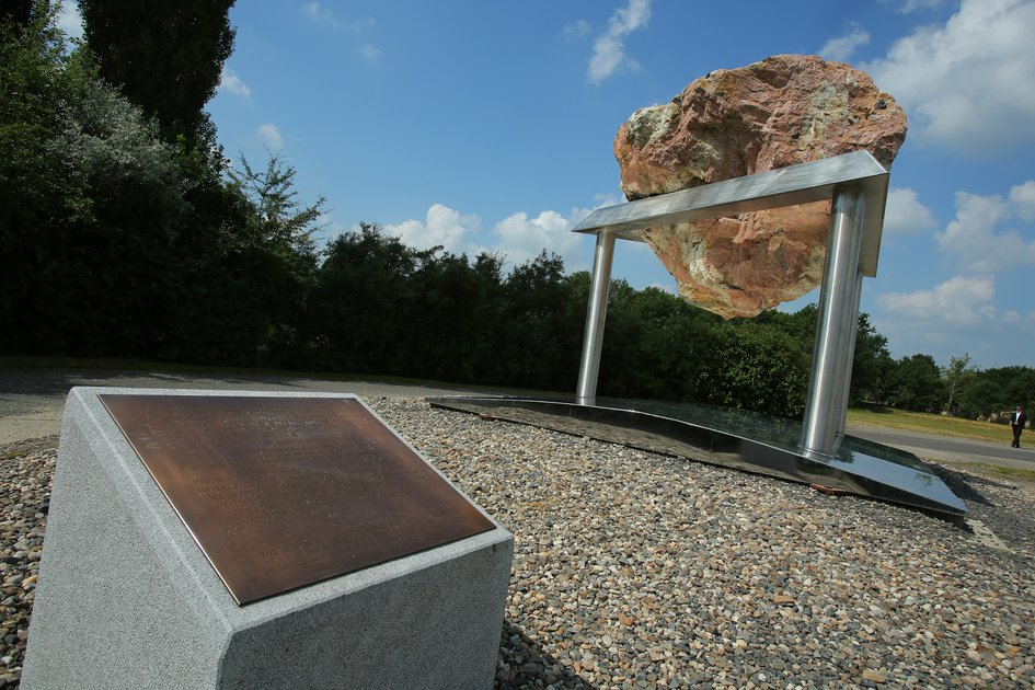 Ejc Unveiled a Monument in Memory of Those Murdered at the Terezin Concentration Camp - June 4, 2018
