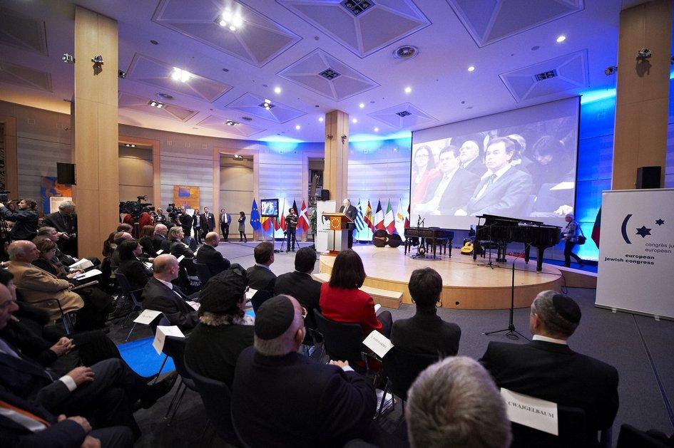 Мемориальный вечер памяти Холокоста в Европарламенте. Брюссель