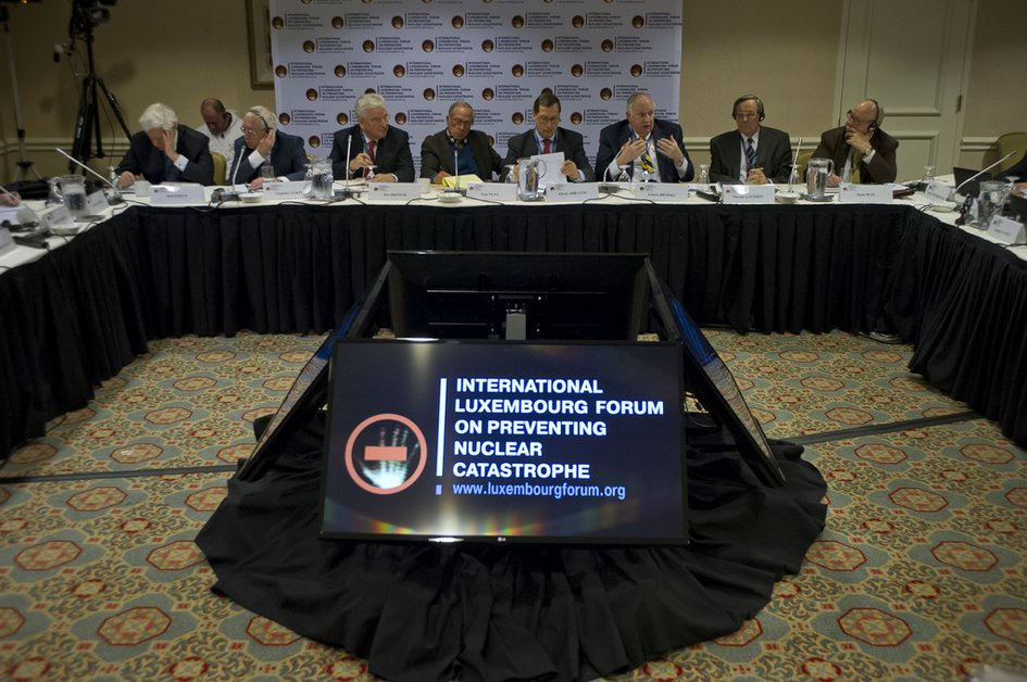 "Joint Conference of the International Luxembourg Forum and the Nuclear Threat Initiative ""Preventing the Crisis of Nuclear Arms Control and Catastrophic Terrorism"". Washington"