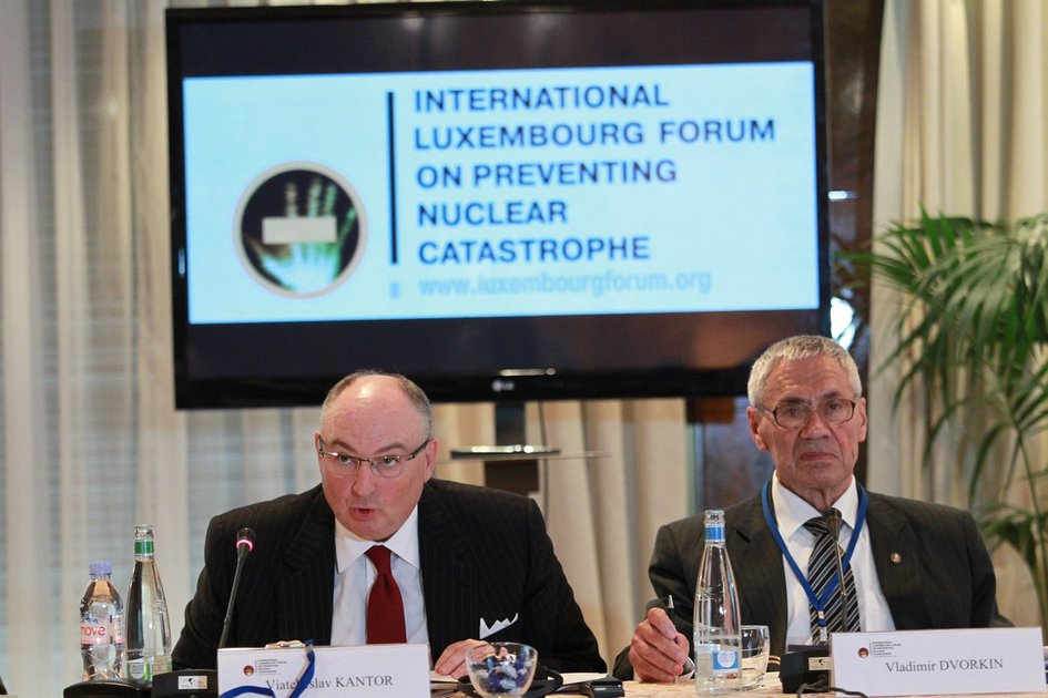 "Conference of the International Luxembourg Forum on Preventing Nuclear Catastrophe ""Safe Tolerance Criteria for Nuclear Non-proliferation Regimes"". Montreux, Switzerland"