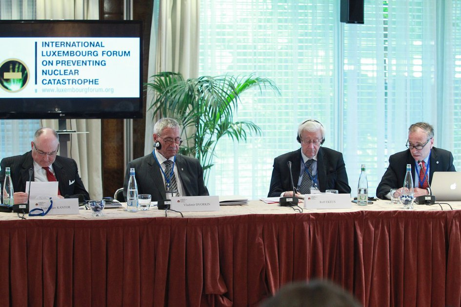 """Conference of the International Luxembourg Forum on Preventing Nuclear Catastrophe """"Safe Tolerance Criteria for Nuclear Non-proliferation Regimes"""". Montreux, Switzerland"""