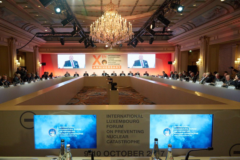 10th Anniversary Conference of the International Luxembourg Forum on Preventing Nuclear Catastrophe. Paris
