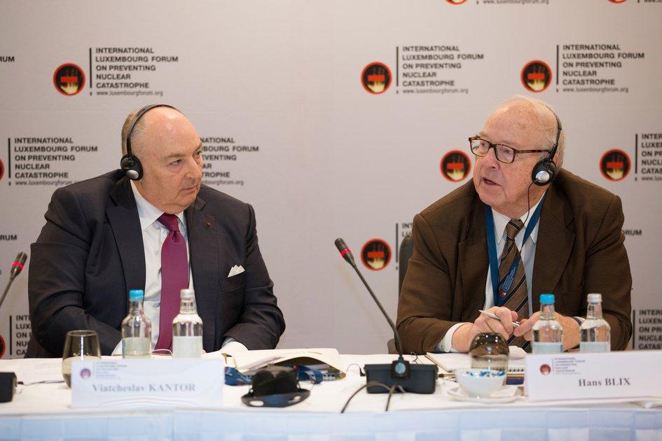 Заседание Наблюдательного совета Международного Люксембургского форума. Лондон